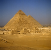 Pyramids of Menkaure, Khafre and Khufu (00090517)