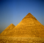 Khafre and Khufu pyramid (00090561)