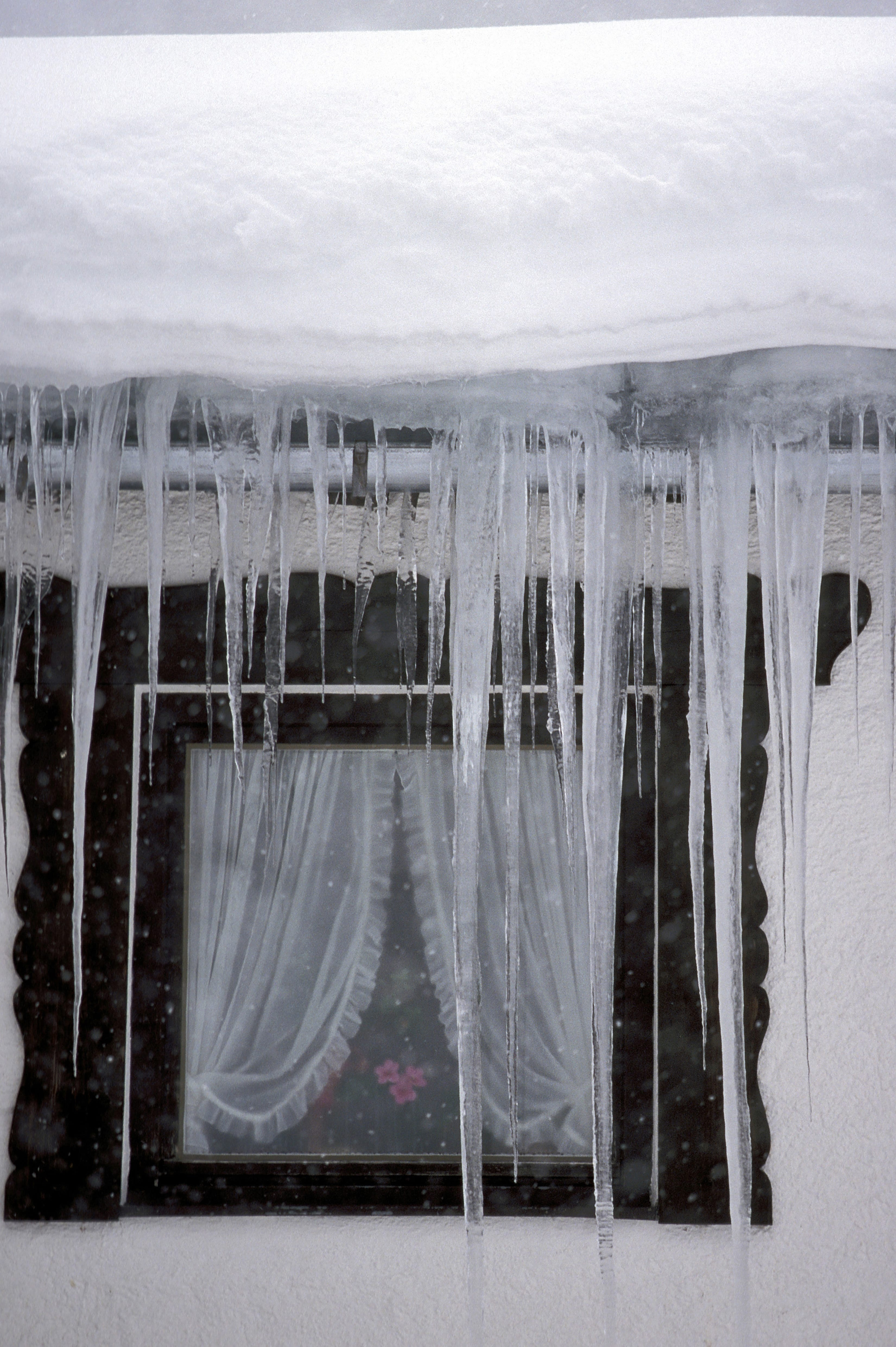 Icicle at the window (00007887)